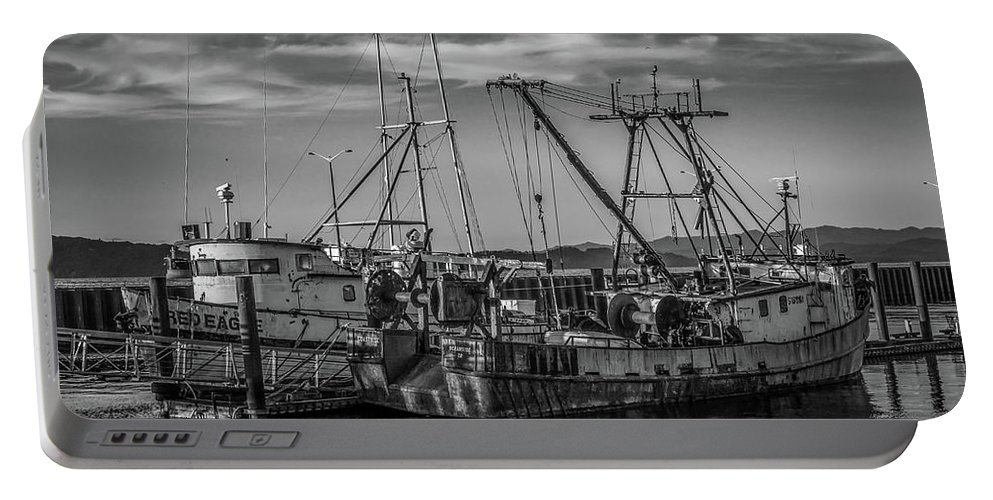 Fishing Boats Portable Battery Charger featuring the photograph Old Boats by Jason Brooks
