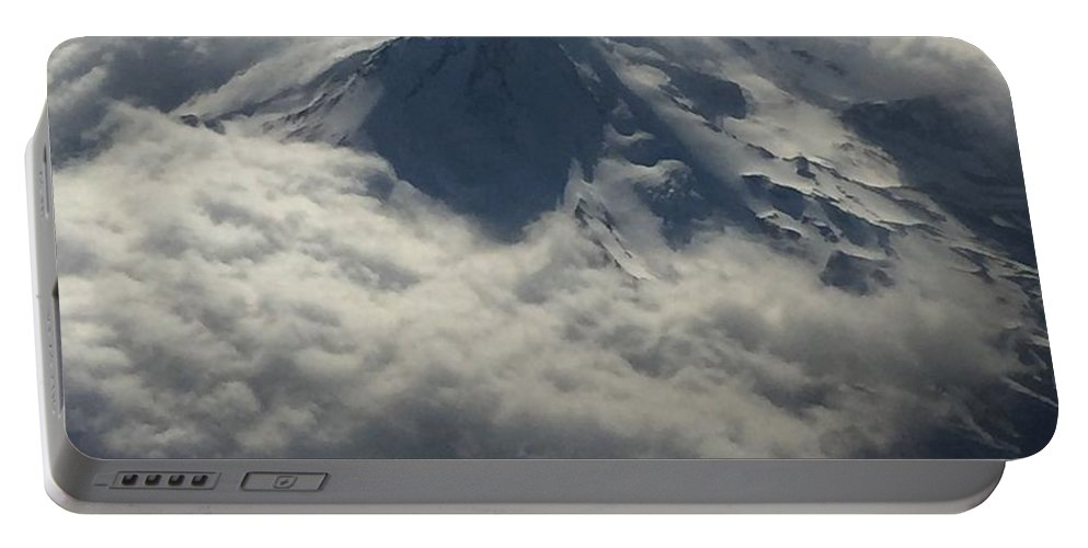 Landscape Portable Battery Charger featuring the photograph Oregon Mountain by Julia Breheny
