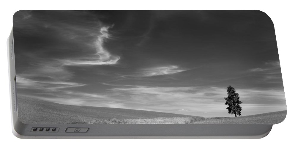Palouse Farms Portable Battery Charger featuring the photograph Palouse Farms by Leland D Howard
