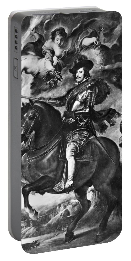 17th Century Portable Battery Charger featuring the photograph Philip Iv (1605-1665) by Granger