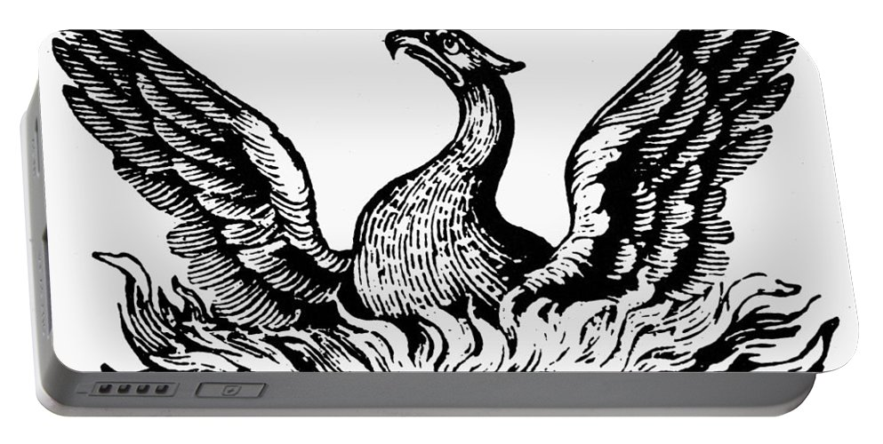 19th Century Portable Battery Charger featuring the photograph Phoenix Rising From Ashes by Granger