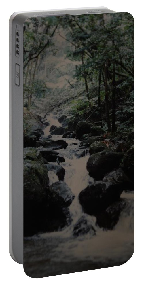 Water Portable Battery Charger featuring the photograph Puerto Rico Water by Rob Hans