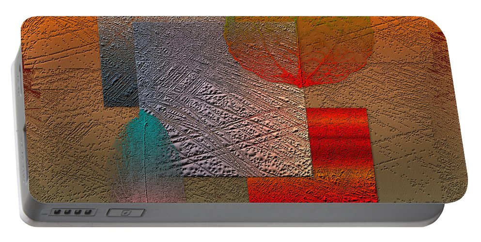 Abstracts By Serge Averbukh Portable Battery Charger featuring the photograph Quiet Sunset at the End of Northern Summer by Serge Averbukh
