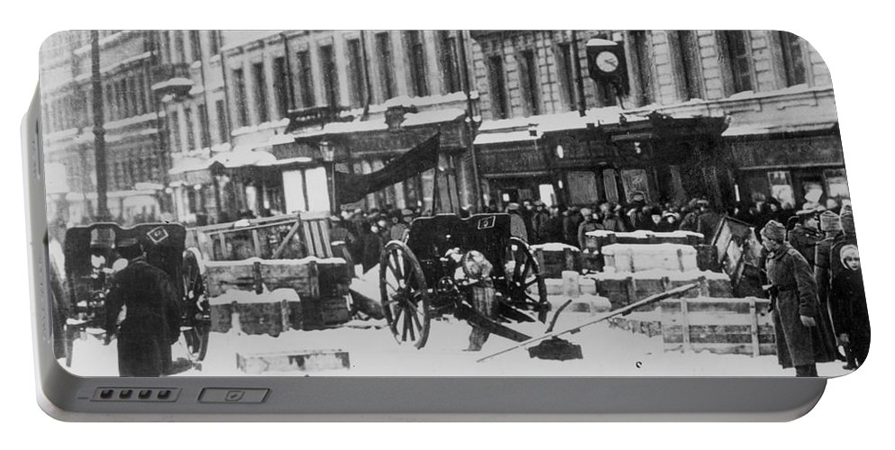 1917 Portable Battery Charger featuring the photograph Revolution Of 1917 by Granger