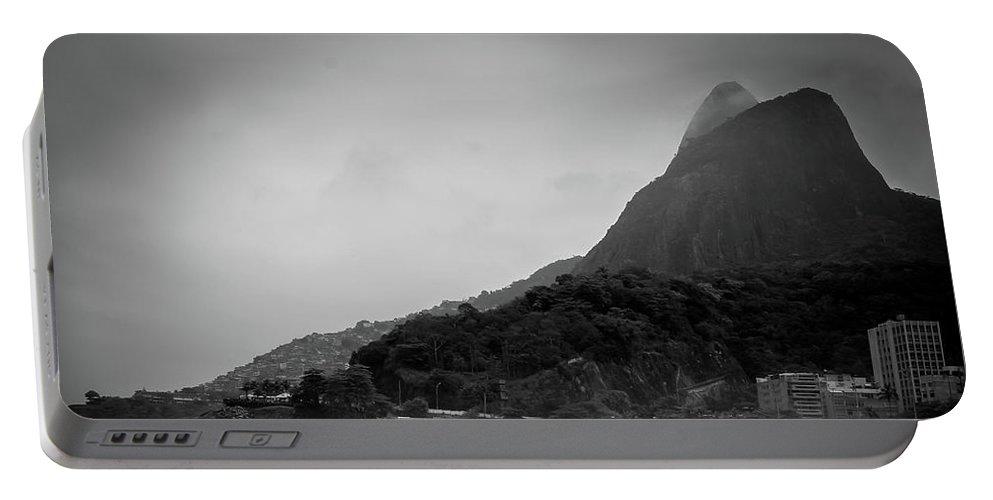 Rio De Janeiro Beach Portable Battery Charger featuring the photograph Rio De Janeiro Beach by Mao Lopez