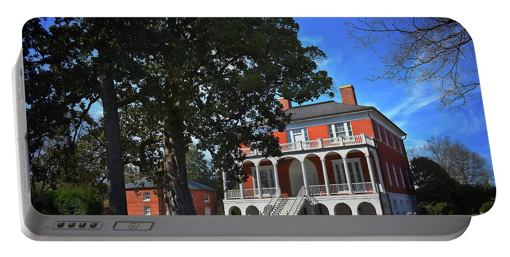 Scenic Tours Portable Battery Charger featuring the photograph Robert Mills House, Sc by Skip Willits