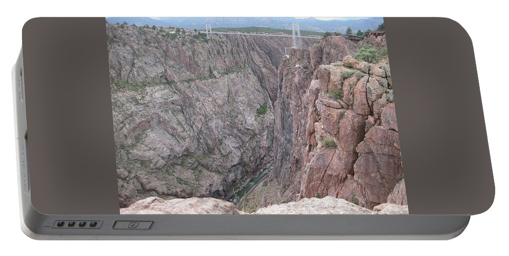 Portable Battery Charger featuring the photograph Royal Gorge Bridge by Rocky Washington