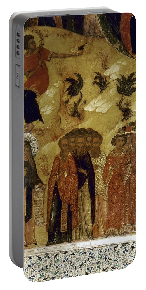 16th Century Portable Battery Charger featuring the photograph Russia: Icon by Granger