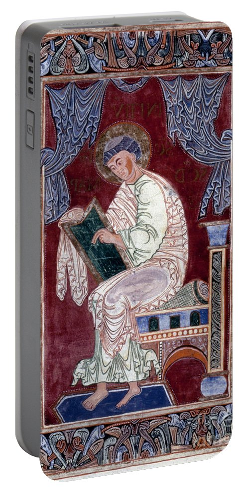 11th Century Portable Battery Charger featuring the painting Saint Mark by Granger