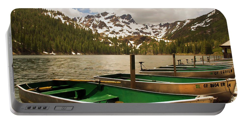 Sardine Lake Portable Battery Charger featuring the photograph Sardine Lake by Mick Burkey
