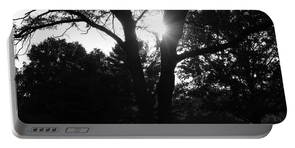 Digital Portable Battery Charger featuring the photograph Shades by Jeff Roney