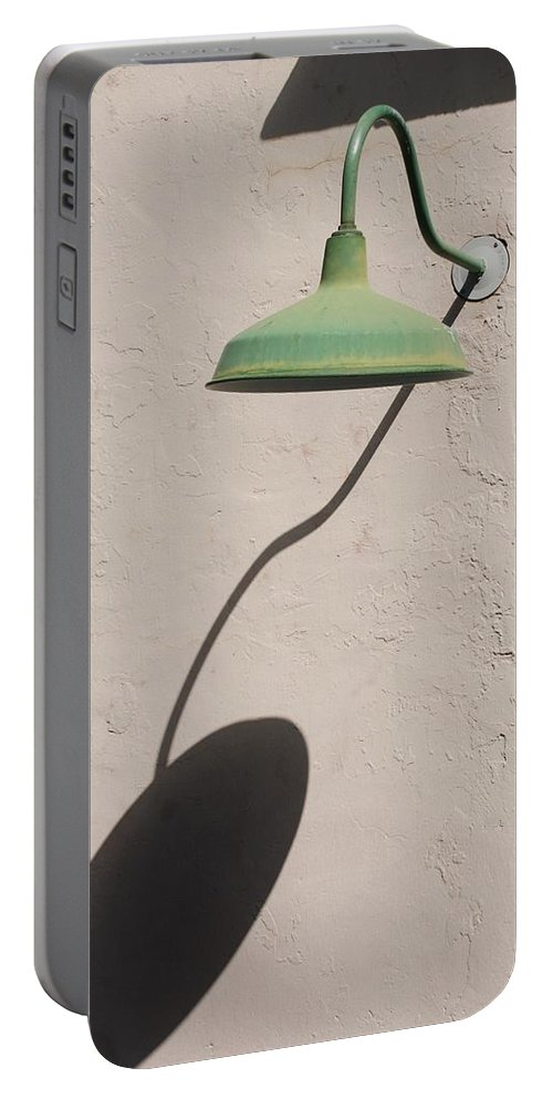 Art Portable Battery Charger featuring the photograph Shadow Lamp by Rob Hans