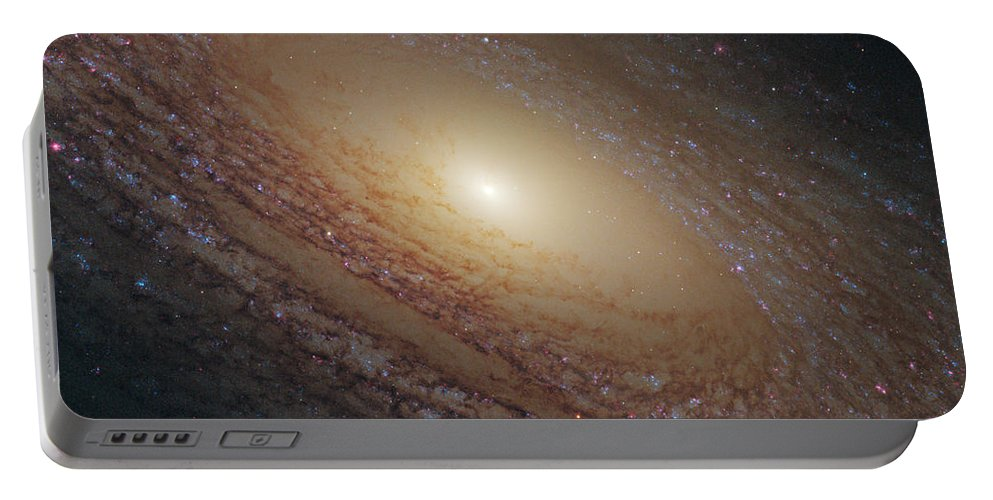 Hubble Portable Battery Charger featuring the photograph Spiral Galaxy Ngc 2841 by Nasa