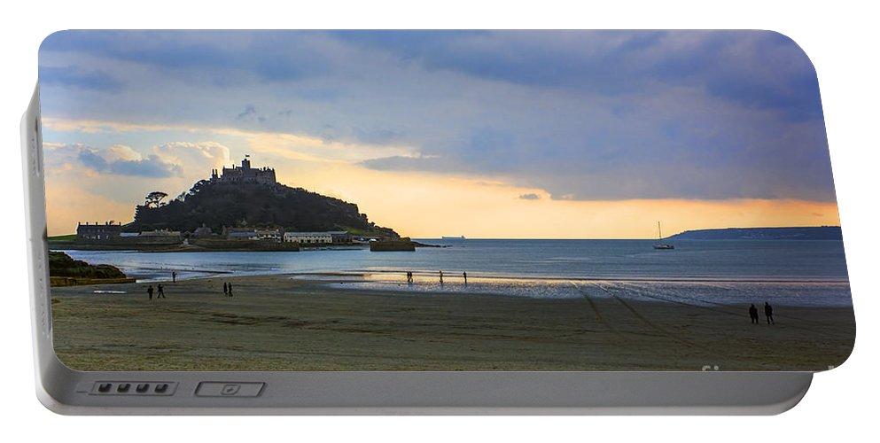 St Michaels Mount Portable Battery Charger featuring the photograph St Michaels Mount by Chris Thaxter