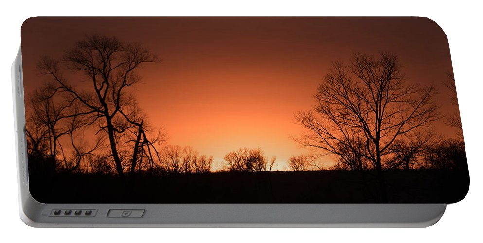 Sunset Portable Battery Charger featuring the photograph Sunset by Tom Wagner