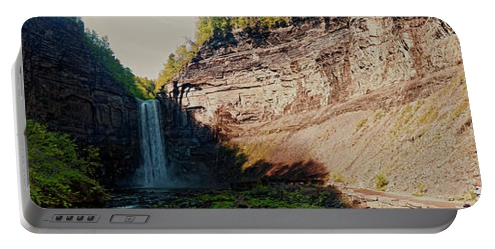 Taughannock Falls Portable Battery Charger featuring the photograph Taughannock Falls by Doolittle Photography and Art