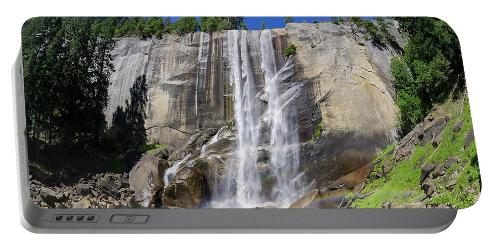 Nps Portable Battery Charger featuring the photograph The Beautiful Venral Fall by Chon Kit Leong