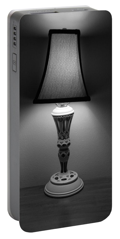 Lights Portable Battery Charger featuring the photograph The Lamp by Rob Hans