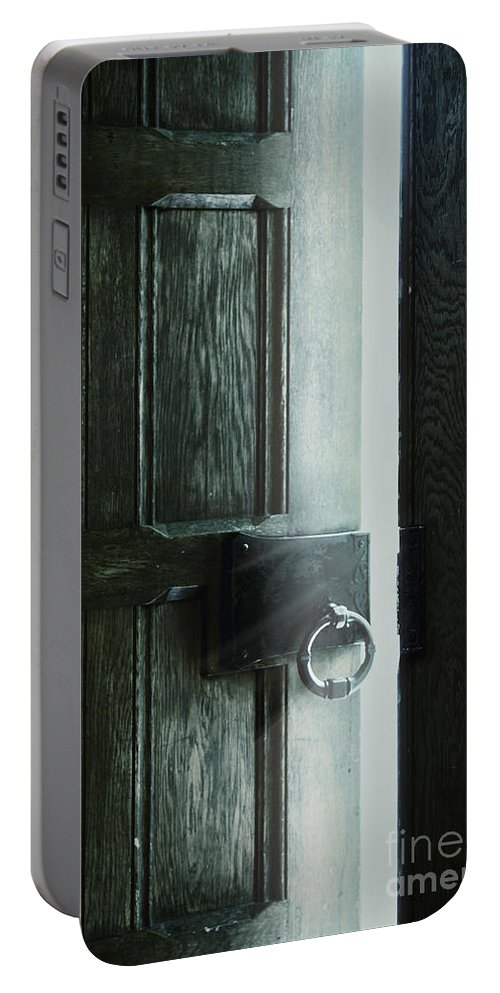 Door Portable Battery Charger featuring the photograph The Light Within by Margie Hurwich