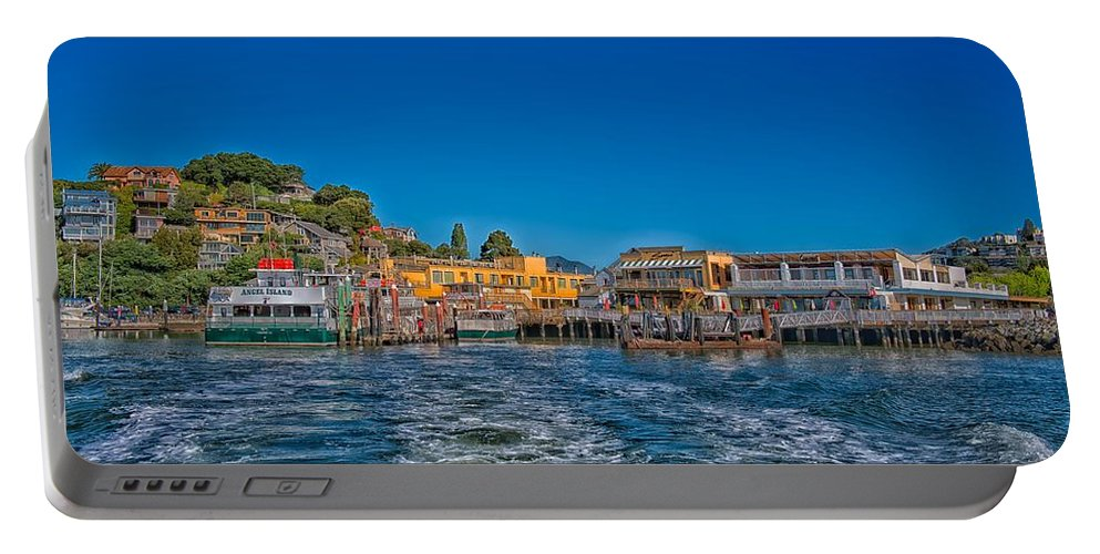 Tiburon Portable Battery Charger featuring the photograph Tiburon Waterfront by Mountain Dreams