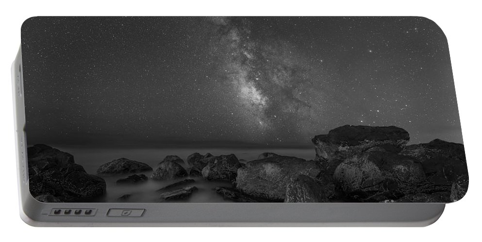 Moonlit Portable Battery Charger featuring the photograph Under The Moon Light by Michael Ver Sprill