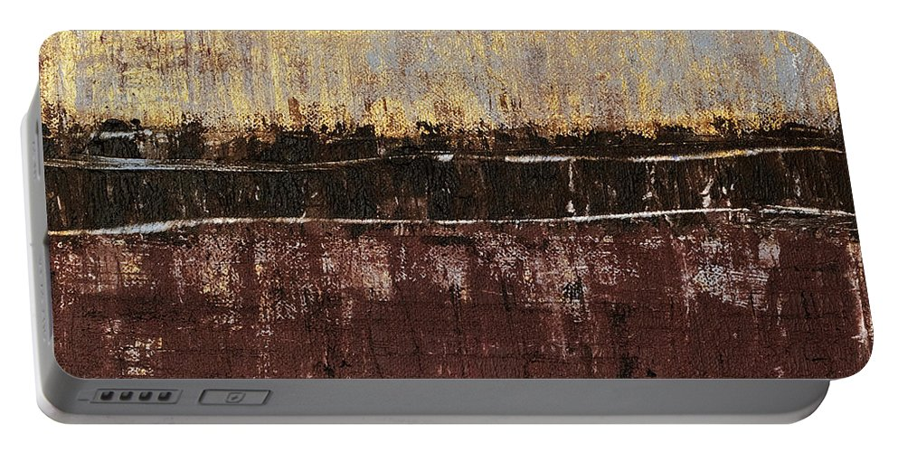 Rothko Portable Battery Charger featuring the painting Untitled No. 4 by Julie Niemela