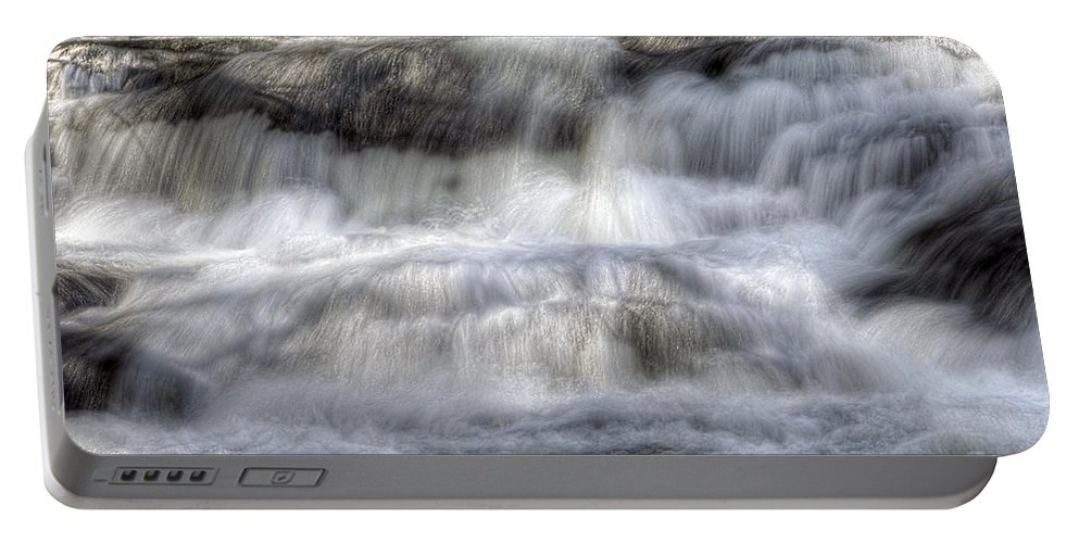 America Portable Battery Charger featuring the photograph Waterfall by Svetlana Sewell