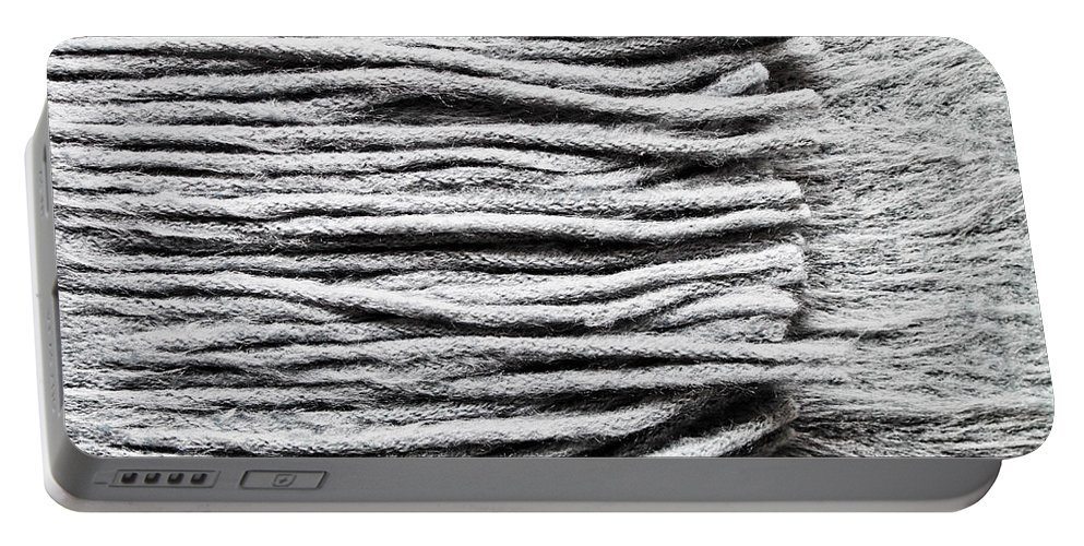 Accessory Portable Battery Charger featuring the photograph Wool Scarf by Tom Gowanlock