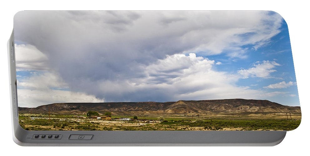 Wyoming Portable Battery Charger featuring the photograph Wyoming 2 by Angela Voss
