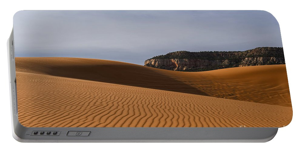 Coral Pink Sand Dunes State Park Portable Battery Charger featuring the photograph Coral Pink Sand Dunes by Yefim Bam