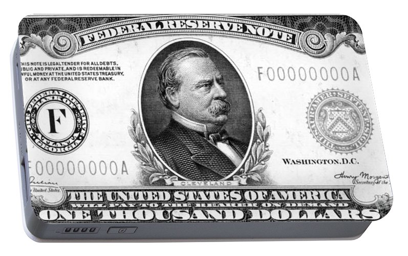 1,000 Dollar Bill Portable Battery Charger