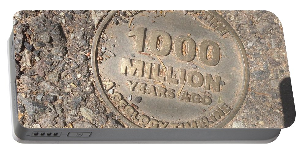 Arizona Portable Battery Charger featuring the photograph 1000 Million Years Ago by Bibi Robers