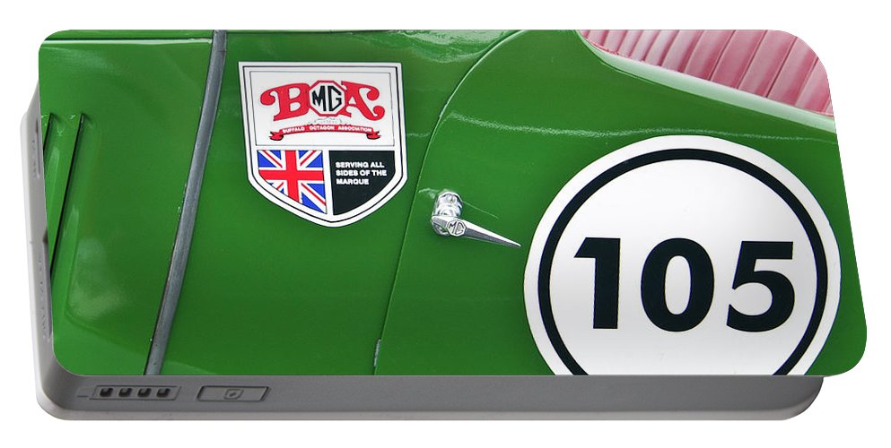 Antique Car Portable Battery Charger featuring the photograph 105 2039 by Guy Whiteley