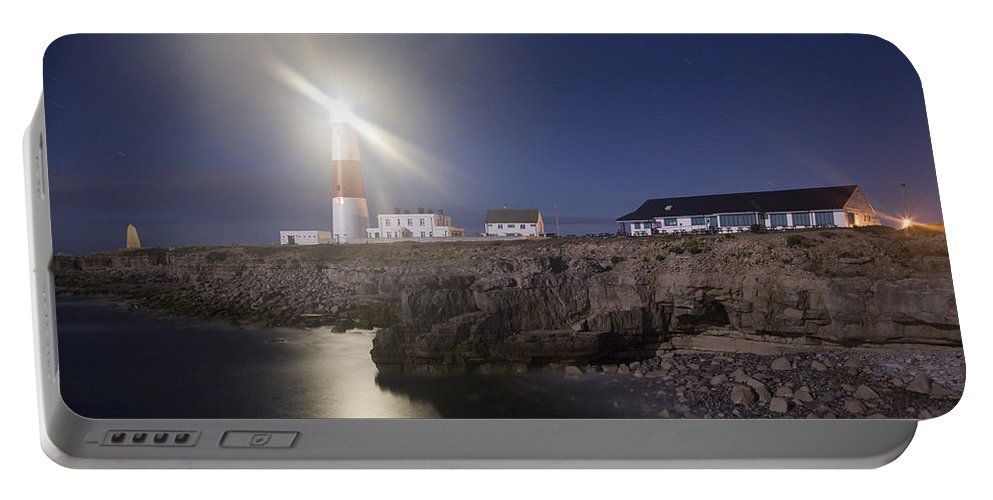 Portland Portable Battery Charger featuring the photograph Portland Bill Seascapes by Ian Middleton