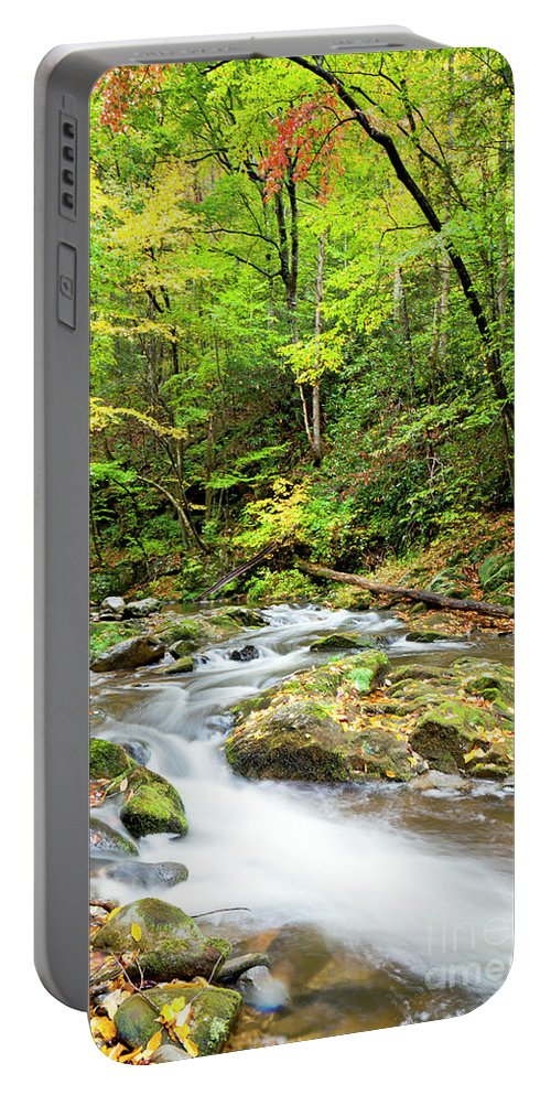 Great Portable Battery Charger featuring the photograph 1266 Great Smoky Mountain National Park by Steve Sturgill