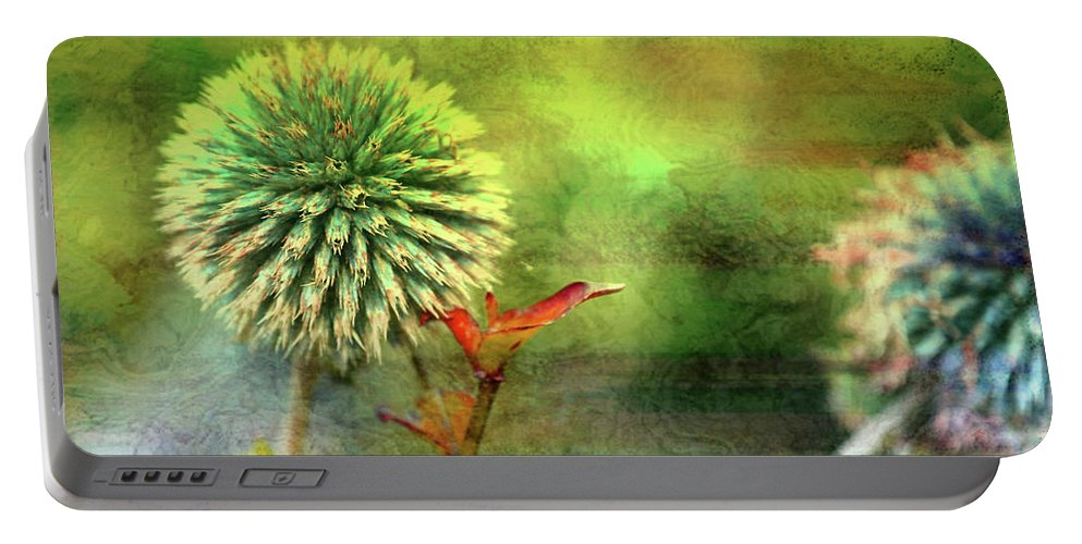 American Beach Cottage Art And Feelings Portable Battery Charger featuring the photograph American Beach Cottage Art And Feelings by Paul Ranky