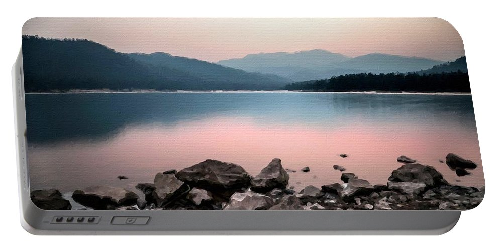 D Portable Battery Charger featuring the digital art Nature Pictures by Malinda Spaulding