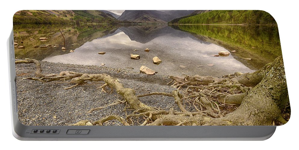 Buttermere Portable Battery Charger featuring the photograph Buttermere by Smart Aviation