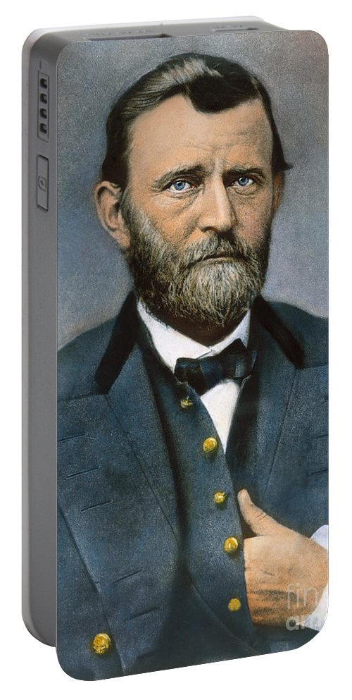 1864 Portable Battery Charger featuring the photograph Ulysses S. Grant (1822-1885) by Granger