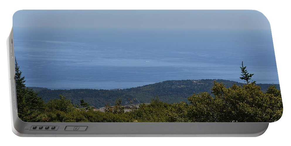 Portable Battery Charger featuring the photograph Mountain's View by Journey Through Our Eyes