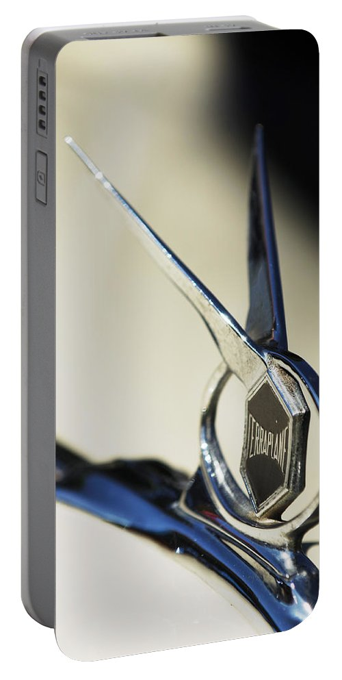 Car Portable Battery Charger featuring the photograph 1934 Terraplane Coupe by Jill Reger