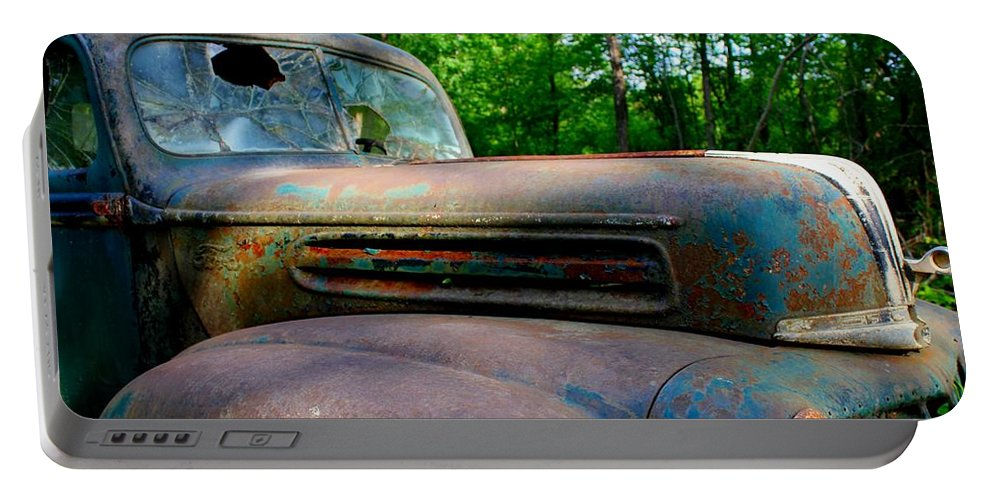 1942 Portable Battery Charger featuring the photograph 1942 Ford by Betty Northcutt