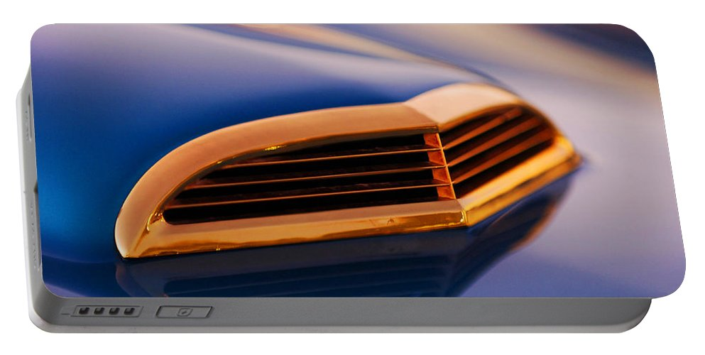 Classic Car Portable Battery Charger featuring the photograph 1957 Ford Thunderbird Scoop by Jill Reger