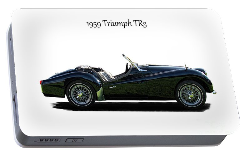 1959 Triumph Tr3 Portable Battery Charger For Sale By Nick Gray