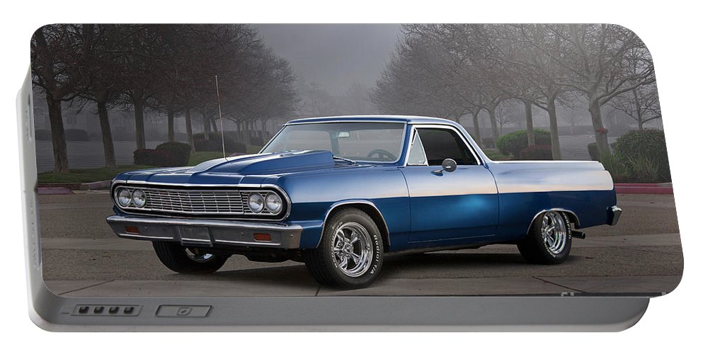 Automobile Portable Battery Charger featuring the photograph 1964 Chevrolet El Camino IIi by Dave Koontz