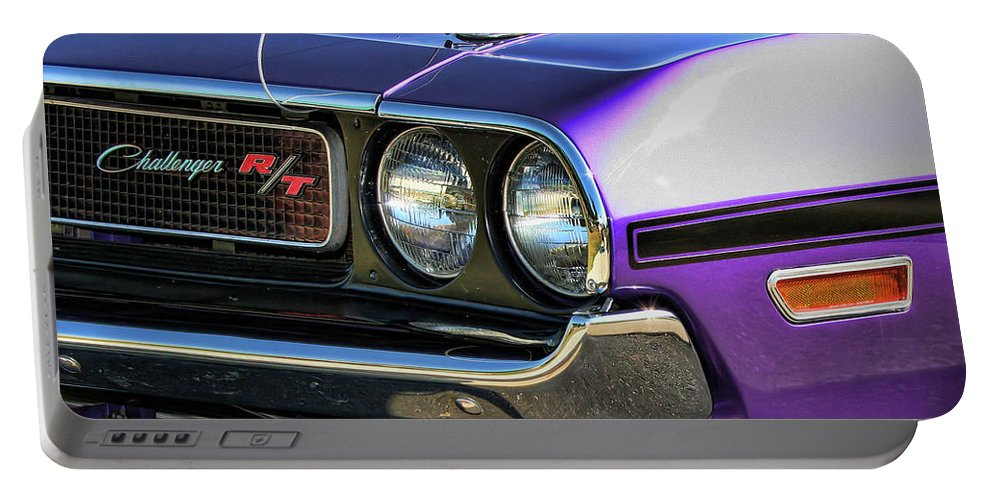 1970 Portable Battery Charger featuring the photograph 1970 Dodge Challenger Rt 440 Magnum by Gordon Dean II