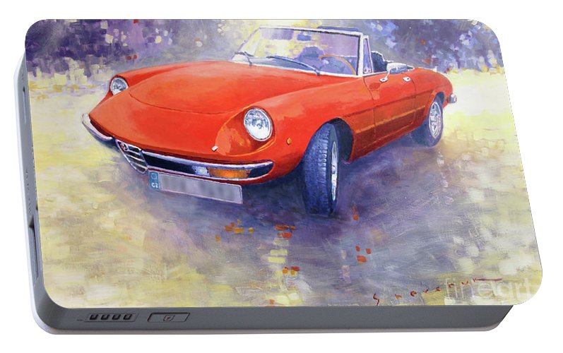 Alfa Romeo Spider Veloce Portable Battery Charger For Sale - 1980 alfa romeo spider for sale