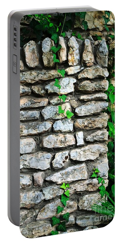 Garden Portable Battery Charger featuring the photograph A Garden Moment by Gary Richards