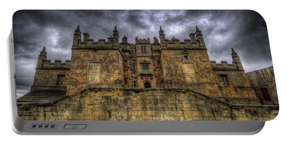 Bolsover Castle Portable Battery Charger featuring the photograph Bolsover Castle by Yhun Suarez