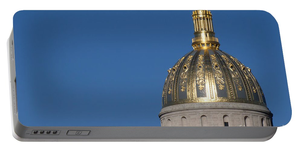 Capital Portable Battery Charger featuring the photograph Capital Of West Virginia In Charleston by Anthony Totah
